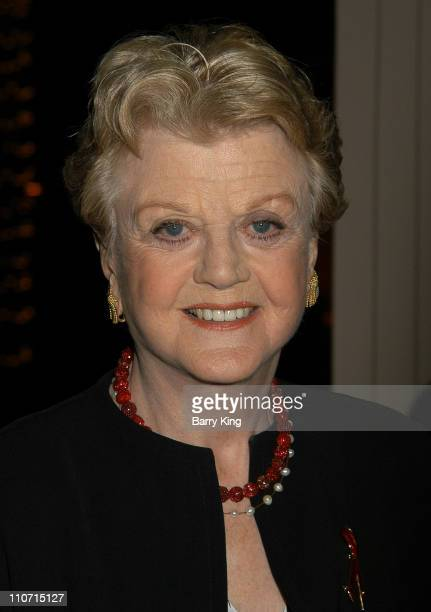 Angela Lansbury during Academy Of Television Arts & Sciences Presents TV Cares: Ribbon Of Hope Celebration 2004 at Leonard H. Goldenson Theatre in...