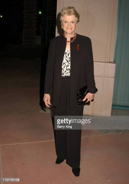 Angela Lansbury during Academy Of Television Arts Sciences Presents TV Cares Ribbon Of Hope Celebration 2004 at Leonard H Goldenson Theatre in North...