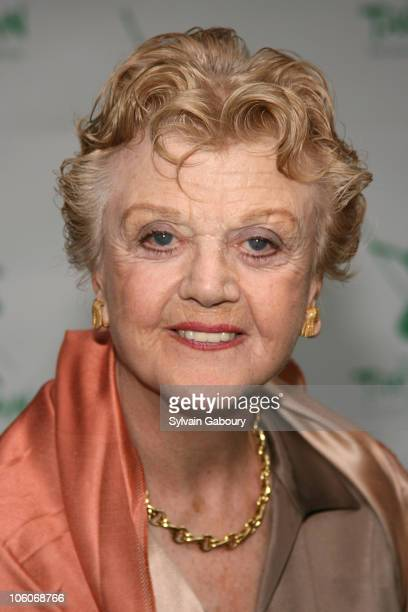 Angela Lansbury during Opening Night of Tarzan Arrivals at Richard Rodgers Theater in New York NY United States