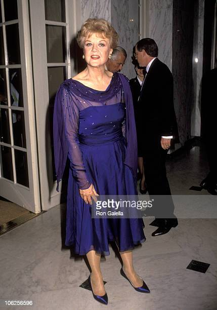 Angela Lansbury during Salvation Army Dinner March 12 1993 at Beverly Wilshire Hotel in Beverly Hills California United States