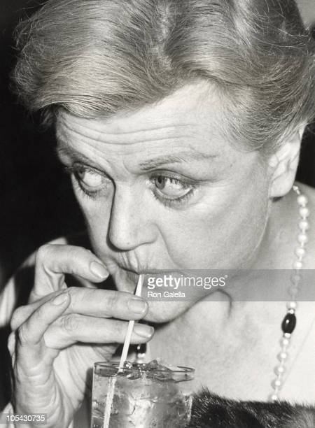 Angela Lansbury during 'Sweeney Todd' Opens at Kennedy Center October 23 1980 at Kennedy Center in Washington DC United States