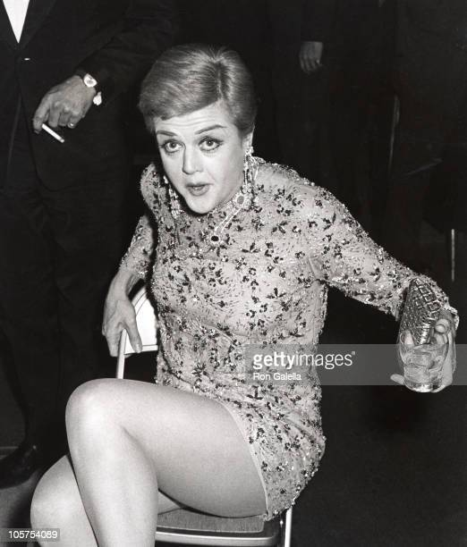 Angela Lansbury during 'The Living Room' Party November 5 1967 at The Living Room Club in New York City New York United States
