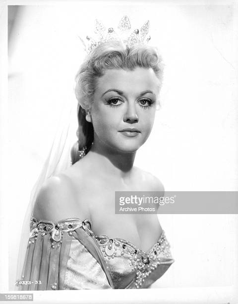 Angela Lansbury in publicity portrait for the film 'The Court Jester' 1955