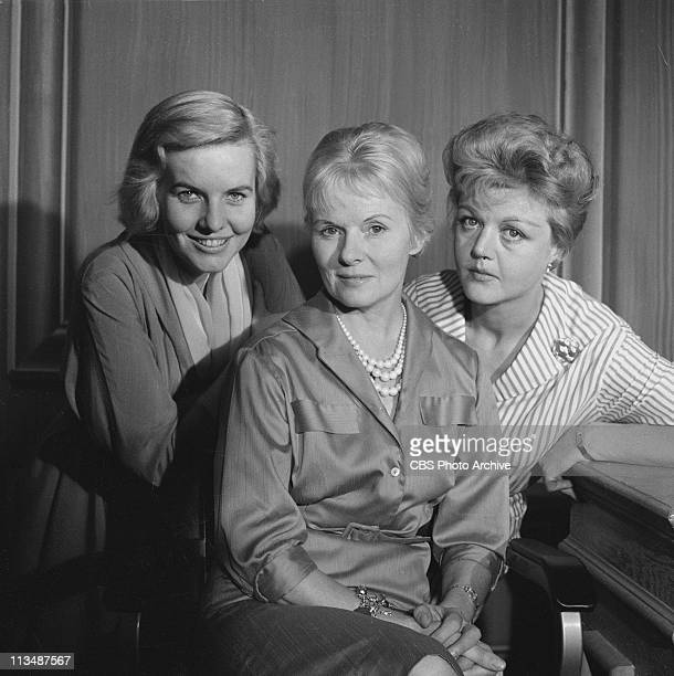 Angela Lansbury right Patricia Cutts left and Ann Todd in 'The Grey Nurse Said Nothing' on PLAYHOUSE 90 Image dated November 10 1959