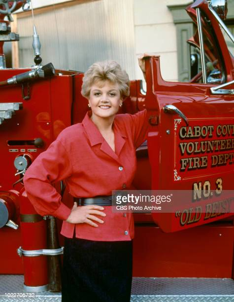 Angela Lansbury stars as mystery writer and crime solver Jessica Fletcher on the CBS television crime drama series Murder She Wrote Image dated...