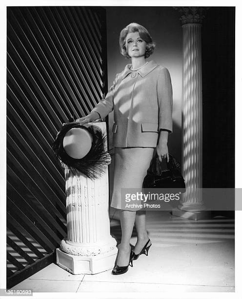 Angela Lansbury wears some specially designed OrryKelly clothes in a scene from the film 'In The Cool Of The Day' 1963