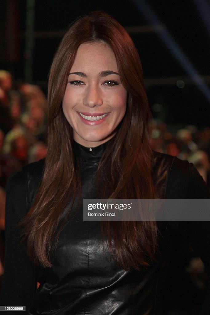 Angela Lanz attends 'Wetten dass..?' From Freiburg on December 8, 2012 in Freiburg im Breisgau, Germany.