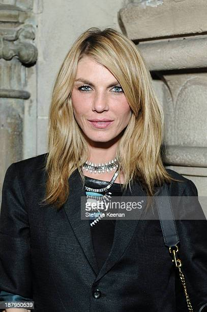 Angela Lindvall attends DANNIJO Rashida Jones 'Fine By Dannijones' Private Dinner At Chateau Marmont at Chateau Marmont's Bar Marmont on November 13...