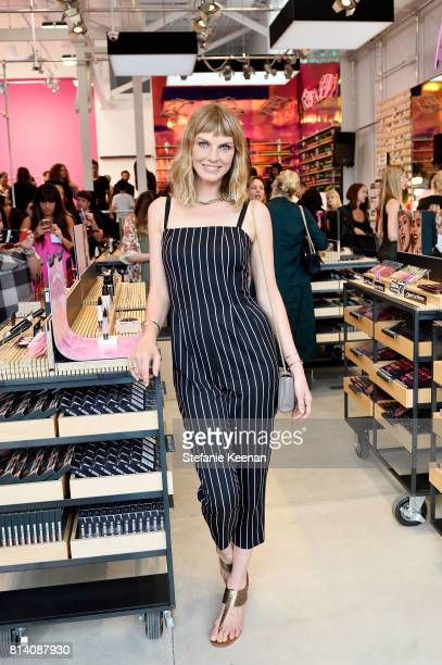 Angela Lindvall attends Smashbox Venice Store Opening on July 13 2017 in Venice California
