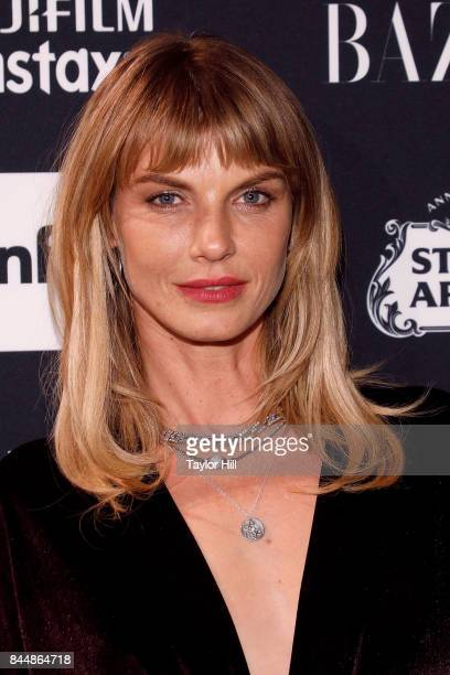 Angela Lindvall attends the 2017 Harper ICONS party at The Plaza Hotel on September 8 2017 in New York City