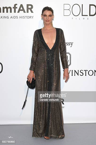 Angela Lindvall attends the amfAR's 23rd Cinema Against AIDS Gala at Hotel du CapEdenRoc on May 19 2016 in Cap d'Antibes France