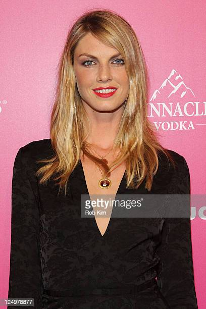 Angela Lindvall attends the event to celebrate Us Weekly's 25 Most Stylish New Yorkers Of 2011 at Penthouse at Dream Downtown on September 14 2011 in...