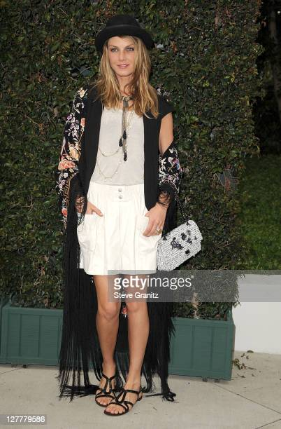 Angela Lindvall attends the Natural Resources Defense Council's Ocean Initiative Benefit Hosted By Chanel on June 4 2011 in Malibu California