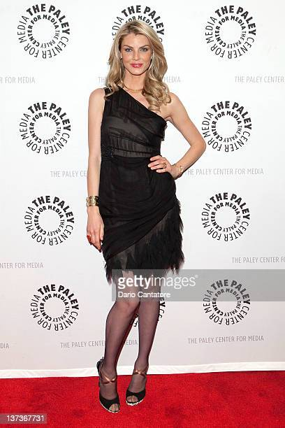 Angela Lindvall attends The Paley Center for Media Presents Project Runway All Stars at The Paley Center for Media on January 19 2012 in New York City