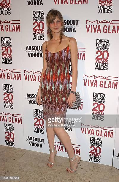 Angela Lindvall during 2003 Viva Glam Casino to Benefit DIFFA Sponsored by MAC at The Regent Wall Street in New York City New York United States