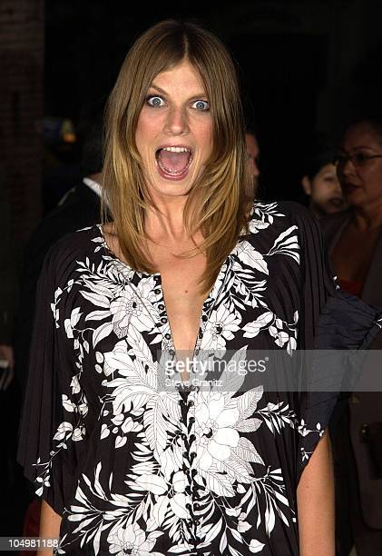 Angela Lindvall during 'CQ' Premiere Los Angeles at Egyptian Theatre in Hollywood California United States