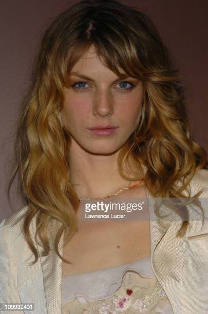 Angela Lindvall during Louis Vuitton Celebrates its 150th Anniversary at Lincoln Center in New York City New York United States