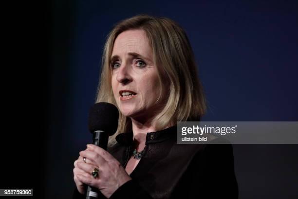 Angela Maas bei der Lesung von Rayk Anders der über das Thema 'Wie Bullshit unser Land vergiftet im Rahmen der 17 litCOLOGNE sprach am 16 März 2017...