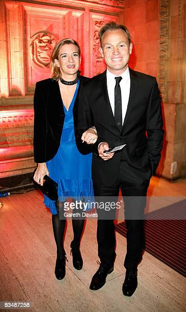 Angela Malloch and actor Jason Donovan arrive at the National Television Awards at the Royal Albert Hall October 29 2008 in London England