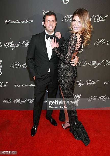 Angela Martini and guest attend 2014 Angel Ball at Cipriani Wall Street on October 20 2014 in New York City