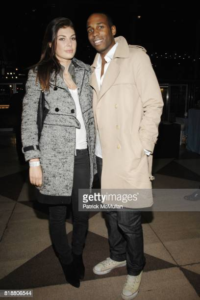 Angela Martini and Reginald Cash attend EAST SIDE HOUSE SETTLEMENT Gala Preview of the 2010 NEW YORK INTERNATIONAL AUTO SHOW at Javits Center on...