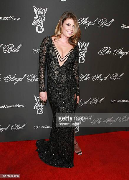 Angela Martini attends 2014 Angel Ball at Cipriani Wall Street on October 20 2014 in New York City