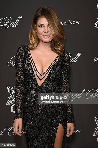 Angela Martini attends Angel Ball 2014 hosted by Gabrielle's Angel Foundation at Cipriani Wall Street on October 20 2014 in New York City