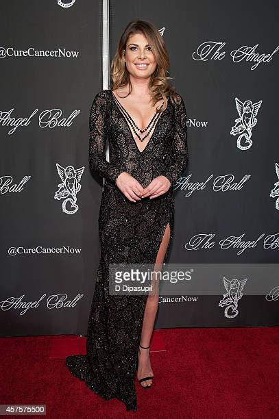 Angela Martini attends the 2014 Angel Ball at Cipriani Wall Street on October 20 2014 in New York City
