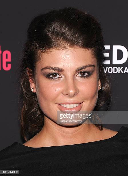 Angela Martini attends the 'Bachelorette' New York Premiere at Landmark's Sunshine Cinema on September 4 2012 in New York City