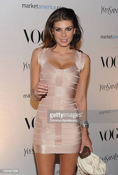 Angela Martini attends Vogue Presents Evenings In Vogue on December 4 2010 in Miami Beach Florida