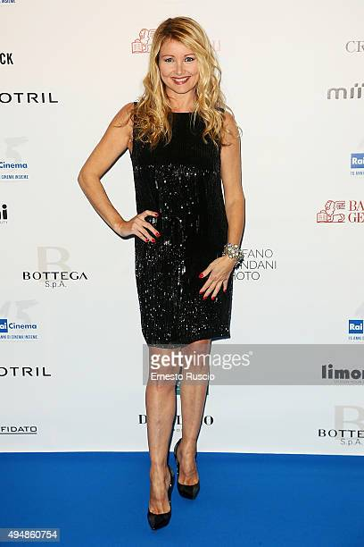 Angela Melillo attends a photocall for the 'RAI Cinema 15th Anniversary' at Auditorium Della Conciliazione on October 29 2015 in Rome Italy