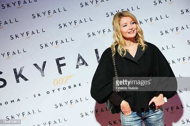 Angela Melillo attends 'Skyfall' Rome premiere at The Space Moderno on October 26 2012 in Rome Italy