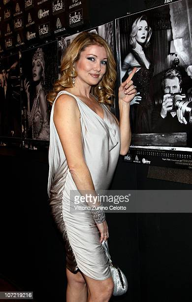 Angela Melillo attends the Fondazione Stefano Borgonovo Charity Event held at Spazio Antologico on November 30 2010 in Milan Italy