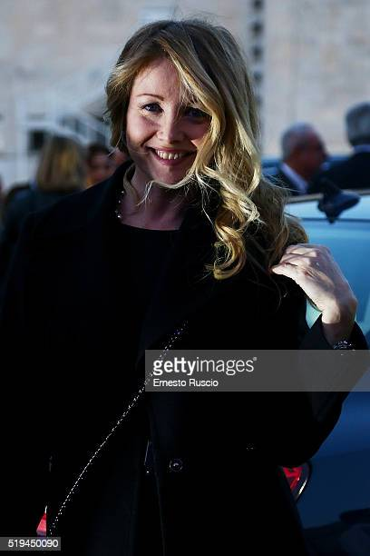 Angela Melillo attends the 'Maserati Levante' Presentation at Casa Delle Armi on April 6 2016 in Rome Italy