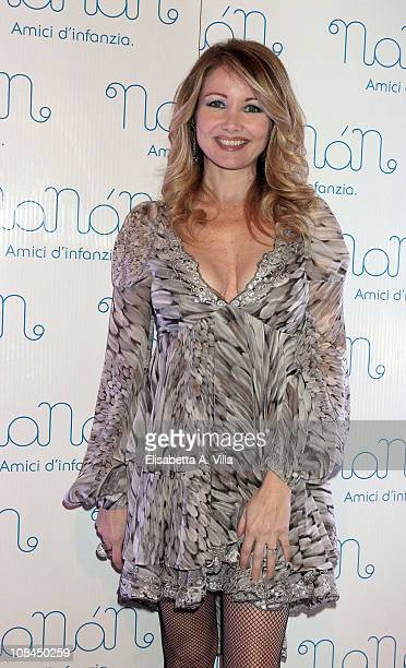 Angela Melillo attends the Nanan Flagship Store Opening on January 27 2011 in Rome Italy
