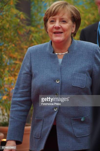 Angela Merkel Chancellor of Germany arriving to the United Nations Framework Convention on Climate Change UNFCCC COP23