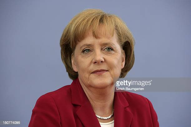 GERMANY BERLIN Angela MERKEL Federal Chancellor of Germany and chairwoman of the Christian Democratic Union CDU