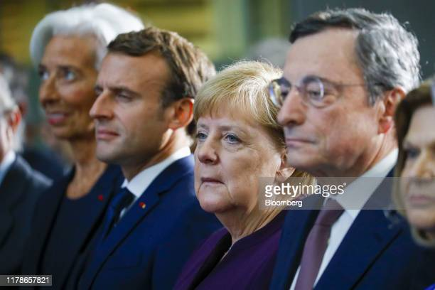 Chancellor Angela Merkel And Christine Lagarde Fotografías e imágenes de stock - Getty Images