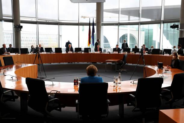 DEU: Germany's Chancellor Merkel Testifies at Wirecard AG Enquiry