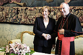 vatican city vatican angela merkel meets