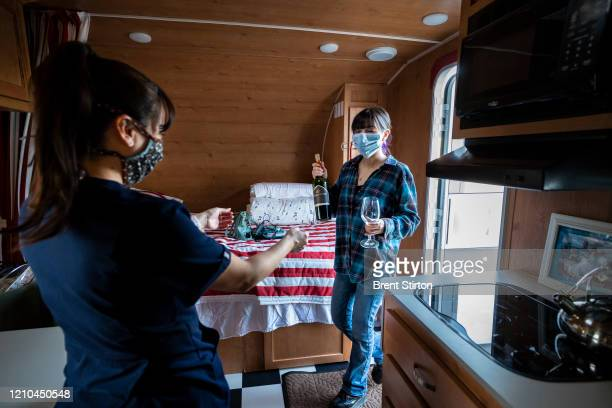 Angela Mireles came up with the concept of Trailers for Nurses a small group that helps nurses EMTs firemen doctors and other health workers to find...