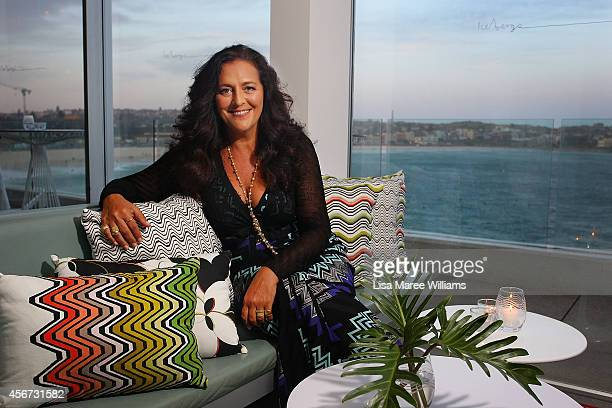 Angela Missoni attends a exclusive event celebrating the 'Missoni for Target' collaboration at Bondi Icebergs on October 6, 2014 in Sydney, Australia.