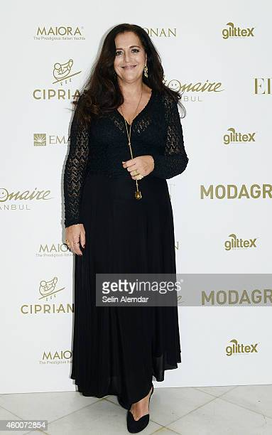 Angela Missoni attends a party hosted by Mehmet Koruturk and Isin Gormus in honour of Angela Missoni Roland Mouret and Zuhair Murad at Cipriani on...