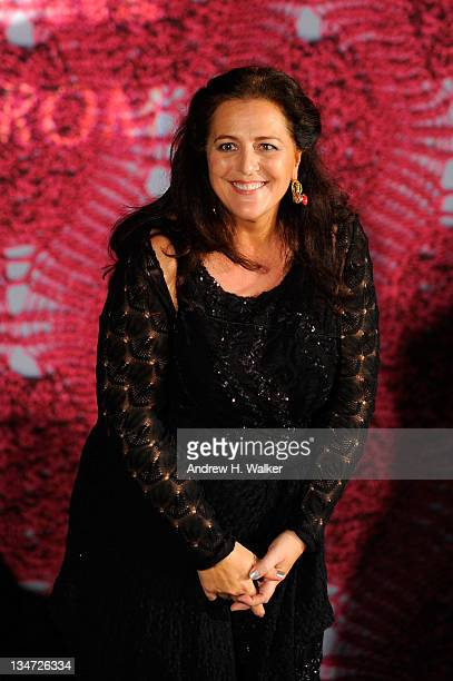Angela Missoni attends Evenings in Vogue with Angela Missoni and Vittorio Missoni for exclusive summer 2012 preview presented by Nordstrom at Casa de...