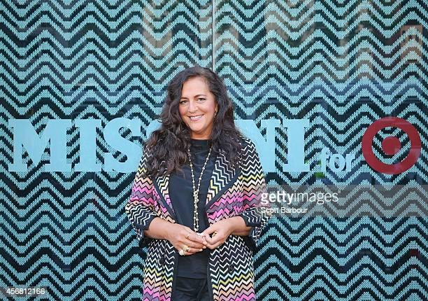 Angela Missoni launches the Missoni for Target range on Chapel Street on October 8 2014 in Melbourne Australia Target Australias biggestever designer...