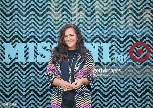 Angela Missoni launches the Missoni for Target range on Chapel Street on October 8, 2014 in Melbourne, Australia. Target Australias biggest-ever...