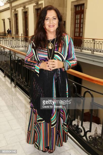 Angela Missoni poses during day one of the Liberatum Mexico Festival 2018 at Castillo de Chapultepec on March 16 2018 in Mexico City Mexico