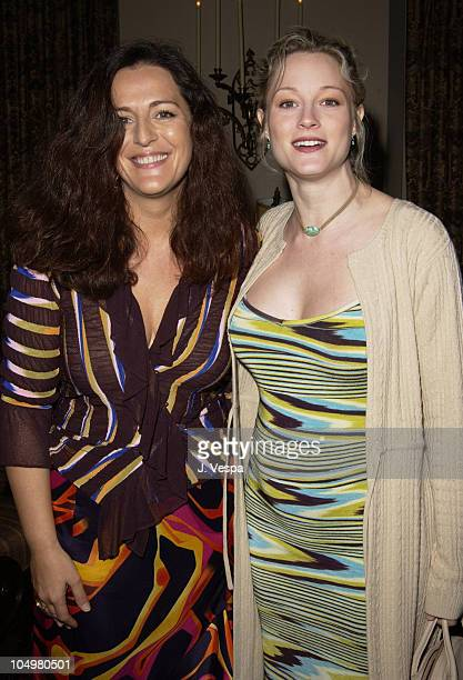 Angela Missoni Teri Polo during Angela Missoni hosts Private Champagne Brunch and Preview of Special Evening Collection for Academy Awards Week at...
