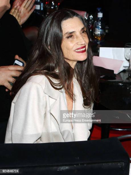 Angela Molina attends 'Fotogramas Awards' gala at Joy Eslava on February 26 2018 in Madrid Spain