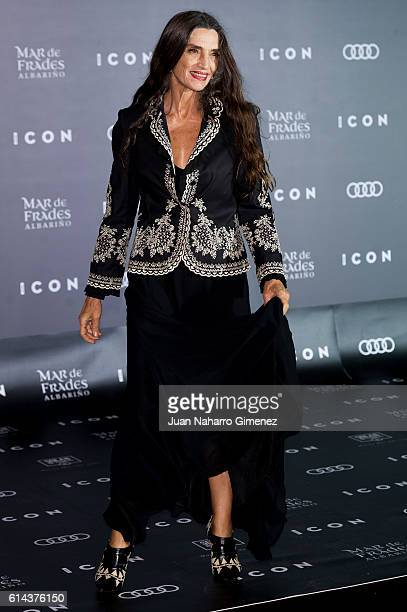 Angela Molina attends 'ICON' awards at the French ambassador's residence on October 13 2016 in Madrid Spain